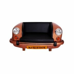 auto sohva ruskea