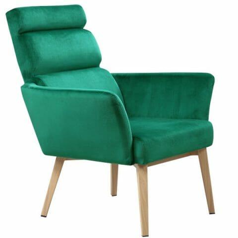 Nojatuoli vihreä