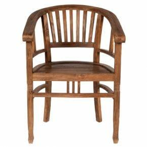 Puutuoli käsinojilla Seadrift