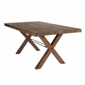 Ruokapöytä tammi rustiikki