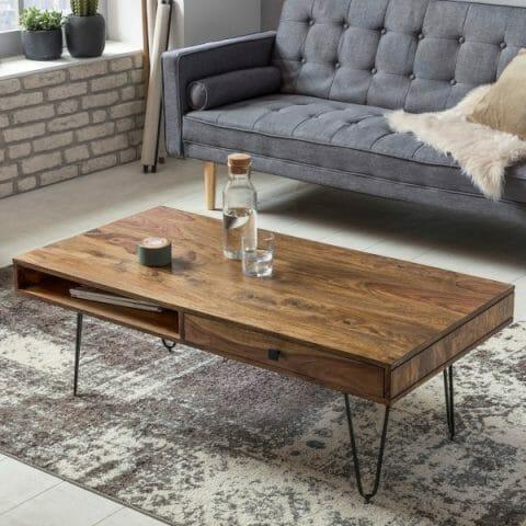 Bagli sohvapöytä laatikoilla