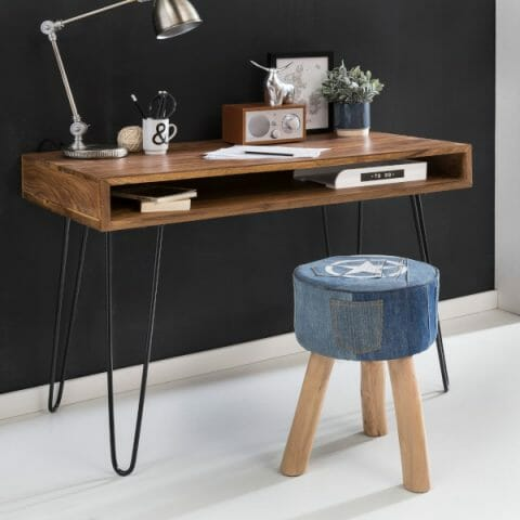 Bagli seesam työpöytä 110 cm