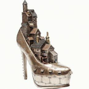 Koriste-esine Steampunk Stiletto