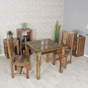 Kalkutta pöytä 80 x 80 cm