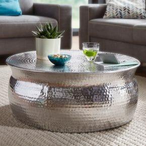 Karam sohvapöytä hopea