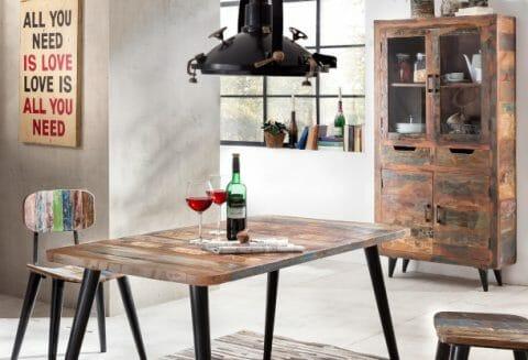 Värikäs ja elämäniloinen Miami -sarja valmistetaan kierrätetystä vanhasta puutavarasta