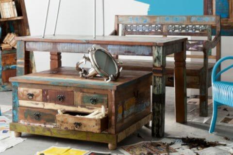 Riverboat - vanhoista kalastusveneistä käsin valmistettuja yksittäishuonekaluja