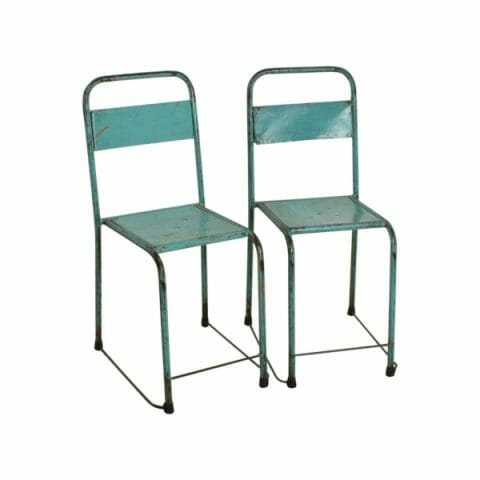 Java tuoli sininen 2-setti