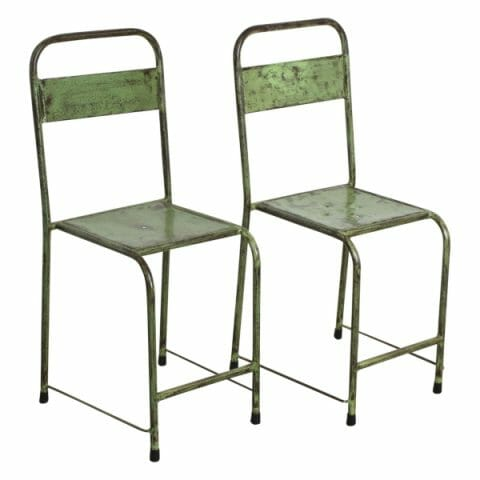 Java tuoli ruohonvihreä 2-setti